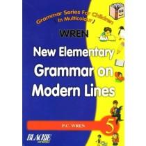 ren New Elementary Grammar on Modern Lines Class 5