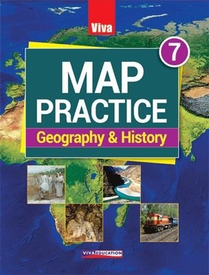 Viva Map Practice Geography & History Class 7