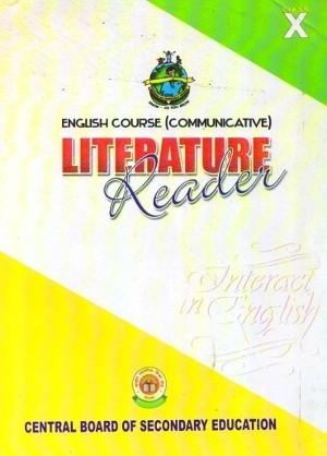 CBSE Interact In English Literature Reader Class 10