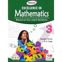 Prachi Excellence In Mathematics For Class 3