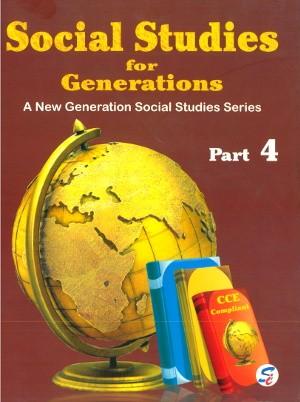 Social Studies For Generations Class 4