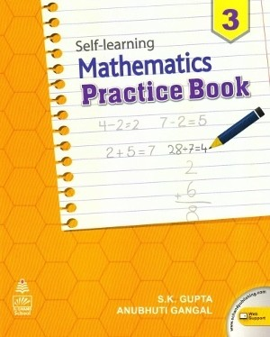 S chand Self Learning Mathematics Practice Book For Class 3