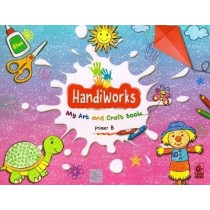 Bharati Bhawan HandiWorks My Art and Craft Book Primer B