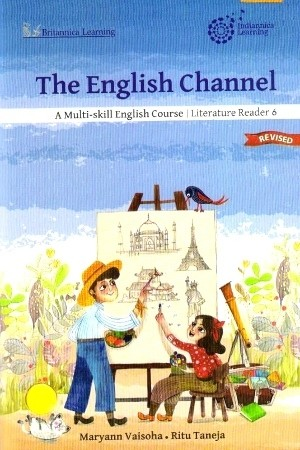 Indiannica Learning The English Channel Literature Reader For Class 6