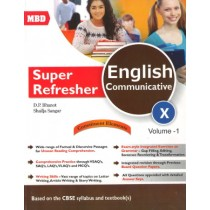MBD Super Refresher English Communicative Class 10 - Vol 1