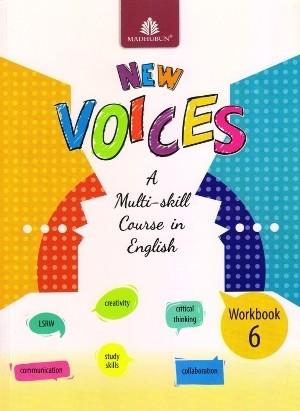 Madhubun New Voices English Workbook 6