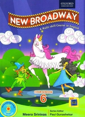 Oxford New Broadway English Coursebook Class 6 New Edition