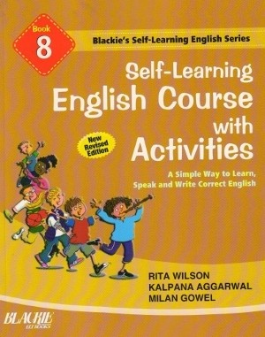 S chand Self Learning English Course With Activities Book 8