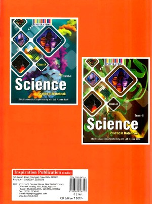 Laboratory Manual Science For Class 10 (With CD & Free Two Practical Notebook)