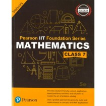 Pearson IIT Foundation Series Mathematics Class 7
