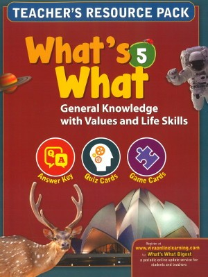 Viva What's What General Knowledge Class 5 Solutions