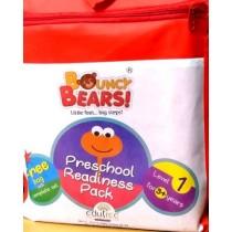 Bouncy Bears Preschool Book Pack Level 1