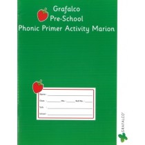 Grafalco Pre-School Phonic Primer Activity Marion