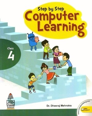S chand Step By Step Computer Learning Class 4