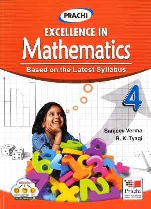 Prachi Excellence In Mathematics For Class 4