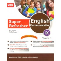 MBD Super Refresher English Communicative Class 9 - vol 1