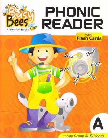 Acevision Busy Bees Phonic Reader Book A