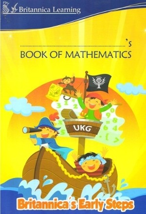 Britannica Early Steps Mathematics Book For UKG Class