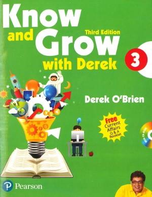 Pearson Know and Grow With Derek 3 Third Edition by Derek O' Brien