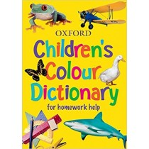 Oxford Children Colour Dictionary For Homework Help