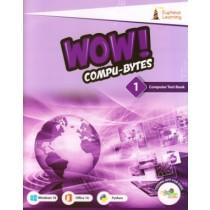 Wow Compu-Bytes Computer Textbook for Class 1