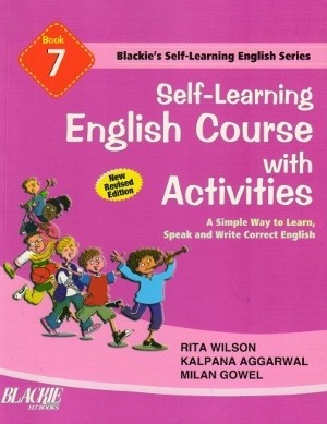 S chand Self Learning English Course With Activities Book 7