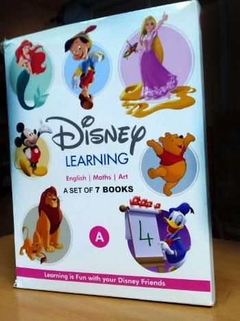 1 Disney Learning Books Set For Nursery Class - A (7 Books Set)