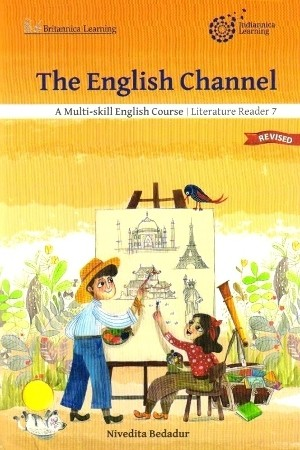 Indiannica Learning The English Channel Literature Reader Class 7