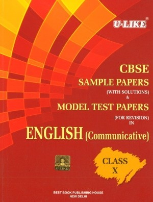 Ulike CBSE English Sample Papers with Solutions for Class 10