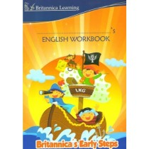 Britannica Early Steps Book of English Workbook for LKG Class