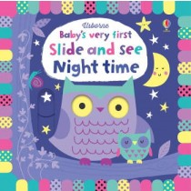Usborne Baby's Very First Slide and See Night time