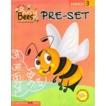 Acevision Busy Bees Pre-Set Hindi Book 3