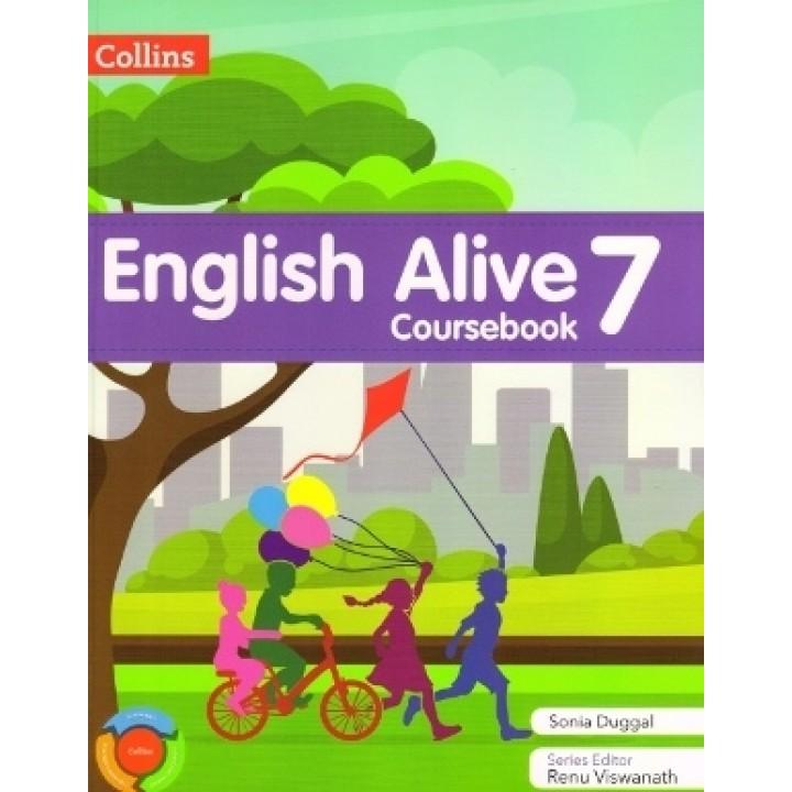 Collins English Alive Coursebook Class 7
