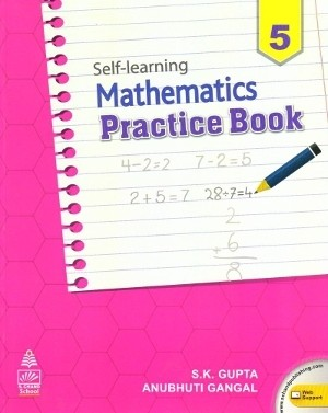 S chand Self Learning Mathematics Practice Book Class 5