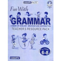 Cordova Fun With Grammar Solution book for classes 6 to 8