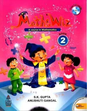 Maths Wiz A Course In Mathematics For Class 2