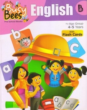 Acevision Busy Bees English Book B with Flash Cards