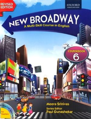 Oxford New Broadway English Course Book For Class 6