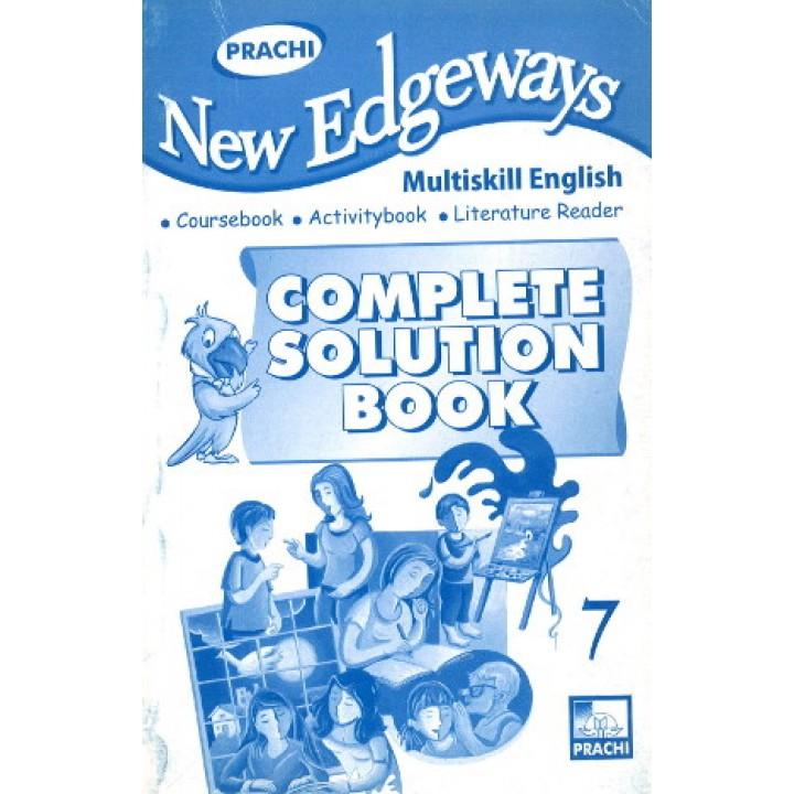 Prachi New Edgeways Complete Solution Book Class 7