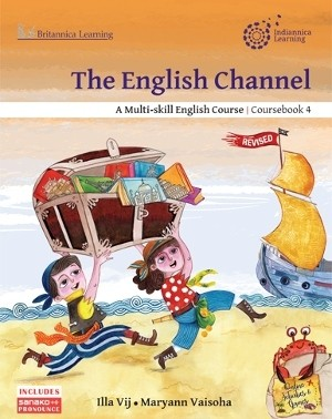 Indiannica Learning The English Channel Coursebook Class 4