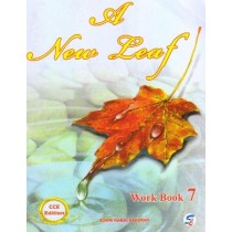 Sapphire A New Leaf English Workbook Class 7