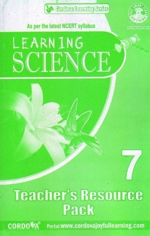 Cordova Learning Science Solution book for Class 7