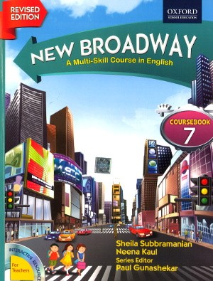 Oxford New Broadway English Course Book For Class 7