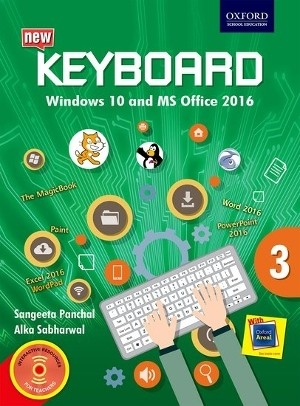 Oxford Keyboard Windows 10 And MS Office 2016 Class 3