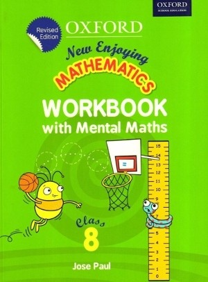 Oxford New Enjoying Mathematics Workbook Class 8