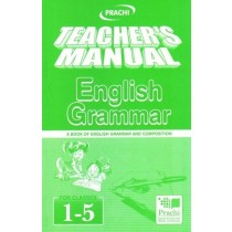 Prachi Teacher's Manual English Grammar For Classes 1 - 5