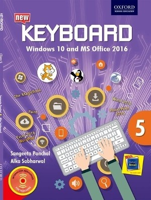 Oxford Keyboard Windows 10 And MS Office 2016 Class 5