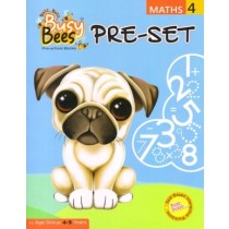 Acevision Busy Bees Pre-Set Maths Book 4