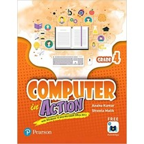Pearson Computer in Action Class 4 Book