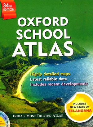 Oxford School Atlas (34th Edition)